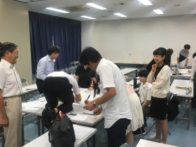 Attendees at captive wild animal welfare seminar in Japan, run by Wild Welfare