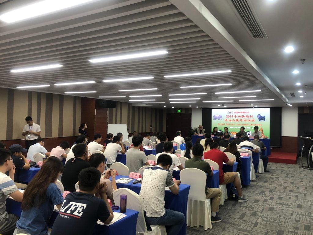 Presentation in China