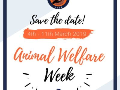 IVSA Animal Welfare Week logo