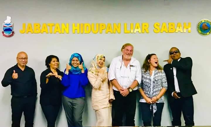 Group of delegates in Sabah