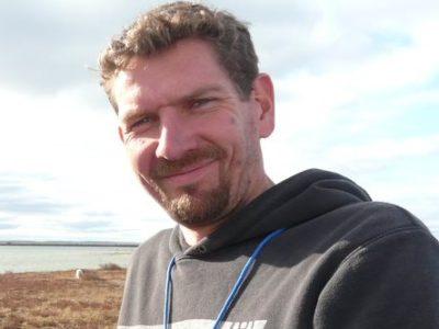 Wild Welfare staff member Simon Marsh